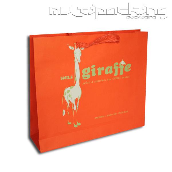 Χάρτινες-τσάντες-giraffe